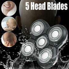 Replacement Rotary 4D 5 Head Razor Washed Blades Rechargeable Electric Shaver
