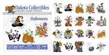 Dakota Collectibles 970542 Halloween Multi Format Embroidery Designs CD