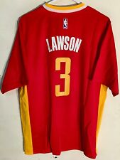1bce3cf7393 Adidas NBA Jersey Houston Rockets Ty Lawson Red Short Sleeve sz M