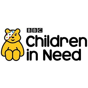 CHILDREN IN NEED LOGO - IRON ON TSHIRT TRANSFERS - A6 A5 A4