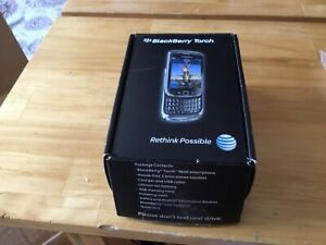 AT&T BLACKBERRY TORCH 9800 PHONE 4G