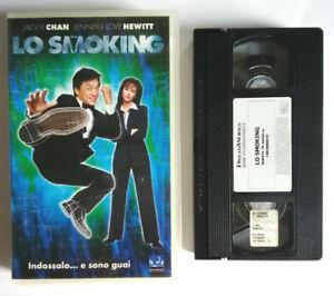 VHS Film Ita Commedia LO SMOKING Jackie Chan ex nolo no dvd cd lp mc (V0) °