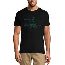 ULTRABASIC Homme T-shirt Gamer Heartbeat - Battement de cœur des joueurs