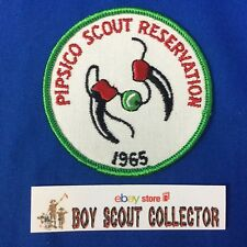 Boy Scout Camp Patch 1965 Pipsico Scout Reservation (Tidewater Council)