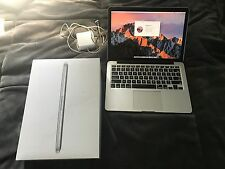 "Apple MacBook Pro Retina 13"" Late 2013 2.4GHZ i5 4GB RAM 128GB SSD Laptop A1502"