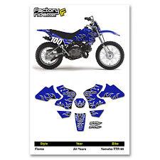 Yamaha TTR 90 FLAME Graphics kit Dirt Bike Deco Decals by Enjoy Mfg