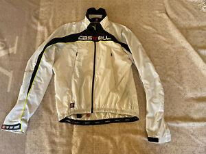 CASTELLI Cycling Waterproof Rain Jacket BRAND NEW ORIGINAL LONG SLEEVES SIZE XL