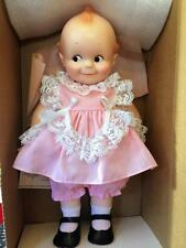 Vintage Rose O'Neill Kewpie Girl Doll Pink Dress #6102 Cameo Jesco