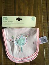 Mothercare newborn bibs Daisy Lane Bnwt