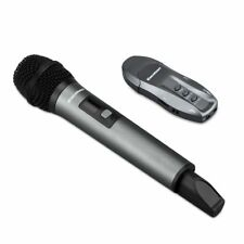 Wireless Mic Bluetooth Karaoke Microphone USB Receiver Stage Presentation System