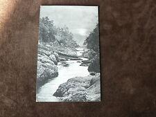 Vintage Davidson's Postcard: Evening on the Keith River, Blairgowrie, Scotland