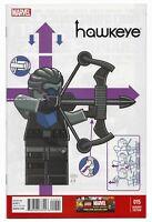 Hawkeye #15 2014 1:25 Castellani Lego Homage Incentive Variant Marvel Comics