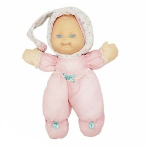 Puffalump Kids Sleepytime Night Light Pink Plush Doll Vintage Fisher Price 1991