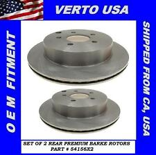 Rear Brake Rotors For FORD Edge , Lincoln MKX 2007 2008 2009 2010