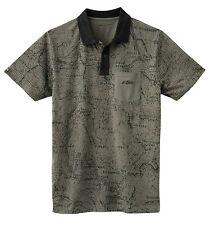 KTM T-Shirt Poloshirt TOPOGRAPHY POLO Gr. S grau khaki, Art.Nr. 3PW1667102