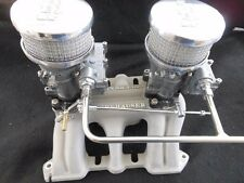 VINTAGE SPEED'S ROCH 2G 2x2 CARB CADILAC '49-'63 V-8  SETUP TRI POWER HOT ROD
