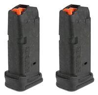 2 MAGPUL Glock 26 Magazines 10rd 9mm Mag