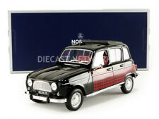Norev 1964 Renault 4 Parisienne Black/Red 1/18 Scale. New Release! In Stock