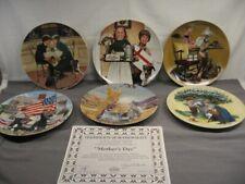 "Set of 6 Bradford Exchange ""American Holidays"" Collector Plates Mib"