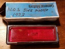 NOS GM 1973 1974 1975 Buick Regal Century Red rear Side Marker Light 911795