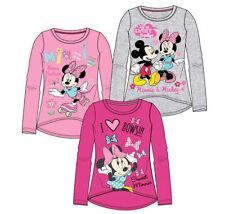 T-shirts et débardeurs rose Disney à manches longues pour fille de 2 à 16 ans