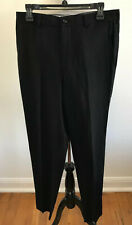 Comme des Garcons Homme Plus Black Acrylic Textured Luxe Designer Pants Size M