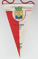 MYPA 47 FC FINLAND ORIGINAL MEDIUM 1990'S PENNANT GOOD/FAIR CONDITION
