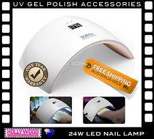 NEW 24W LED Nail Polish Lamp -Dry & Cure UV & LED Soak Off Gel Polish (9S Model)
