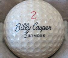 (1) BILLY CASPER SIGNATURE LOGO GOLF BALL (CIR 1962 #2 BILTMORE)