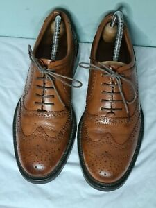 Oxford Mens Classics Brown Leather shoes size 9