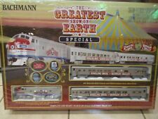 "BACHMANN HO SCALE RINGLING BROS ""GREATEST SHOW ON EARTH"" CIRCUS TRAIN SET"