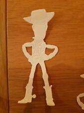 Disney Toy Story Woody DIE CUT X 8 Carte Topper/Scrapbooking