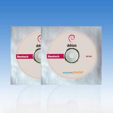 █ Linux Debian 9.5.0 Deutsche Version 32 Bit und 64 Bit (zwei CD bzw DVD´s) 2018