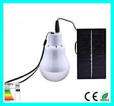 Portable Solar Power LED Bulb Lamp Outdoor Lighting Camping Hiking Survival