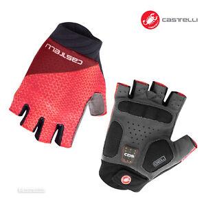 NEW Castelli ROUBAIX GEL 2 Womens Summer Cycling Gloves : BRILLIANT PINK