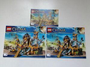 LEGO Notice Instruction / Lego Chima 70010 The Lion CHI Temple