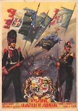A4578) WW2 DIVISIONE DI FANTERIA GRANATIERI DI SARDEGNA. VIAGGIATA CON P.M.