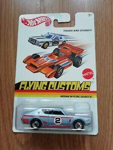 hot wheels NISSAN SKYLINE 2000 GT-R Flying customs *