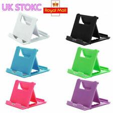 UK Universal Adjustable Mobile Phone Holder Stand Desk Tablet Foldable Portable