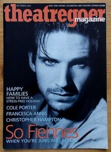 Theatregoer Magazine December 2002 Ralph Fiennes Francesca Annis theatre
