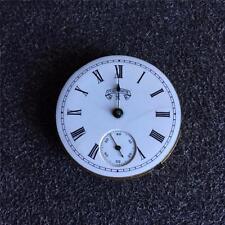 VINTAGE 6 SIZE GRADE 50 COLUMBUS W.C. HUNTING CASE POCKET WATCH MOVEMENT