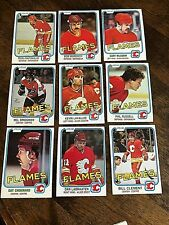 1981-82 O-Pee-Chee  CALGARY FLAMES 14 card team lot