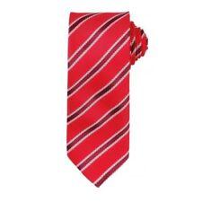 Corbatas, pajaritas y pañuelos de hombre a rayas rojas