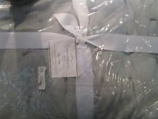 Pottery Barn Cotton silk jersey King quilt + 1 King sham smoke New w tag