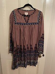 Limited Edition Leona Edmiston Ruby Frocks Size 16 Extremely Cute Smock Dress