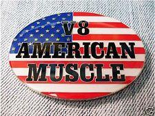 Nouveau V8 American Muscle émail voiture badge Ford Corvette Chevy Chrysler Dodge