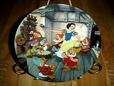 The Dance Of Snow White And The Seven Dwarfs Walt Disney Plate