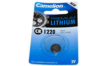 Cr1220 3 Volt Lithium Coin Cell Battery
