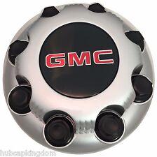 NEW oem GMC Sierra Savanna Yukon 2500 3500 Silver 8-lug Wheel Center Hub Cap