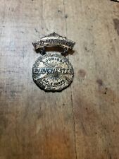 "Vintage Winchester Junior Rifle Corps Pro-Marksman Brass Pin Award 1.75"" L"